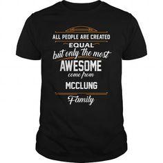 Cool MCCLUNG Name tee Shirts T shirts