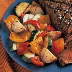 easy grilled vegetables Recipe
