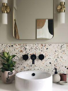 Modern Bathroom Decor, Bathroom Interior Design, Bathroom Designs, Bathroom Ideas, Budget Bathroom, Colourful Bathroom Tiles, Modern Bathrooms, Modern Bathroom Inspiration, Zen Bathroom Design