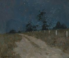 Arthur Streeton, Moonlight Impression