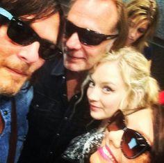 Norman,  Greg, Emily & Lauren at San Diego Comic Con 2014