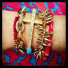 Very cute bracelets by Stella & Dot!