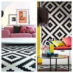 Save or Splurge: Graphic Monochrome Rug – Mad About The House