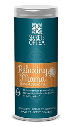 Secrets Of Tea Relaxing Mama Stress Reducing Tea * Want to know more, click on the image.