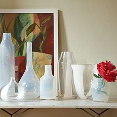 I love the Clear + Opal Glass Vases on westelm.com