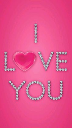 samsung wallpaper red Perfectly Pink - I Love You (Valentine) Bling Wallpaper, Heart Wallpaper, Love Wallpaper, Wallpaper Backgrounds, Trendy Wallpaper, Wallpaper Desktop, Wallpaper Quotes, Pink Love, Pretty In Pink