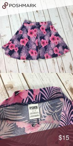 VS PINK floral print skirt.  Sz small. VS PINK floral print skirt.  Sz small. PINK Victoria's Secret Skirts