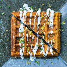 The Falafel Waffle recipe on Food52