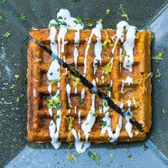 The Falafel Waffle recipe on Food52