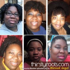 Thirsty Roots Community Member: Blessed Angel | thirstyroots.com: Black Hairstyles and Hair Care
