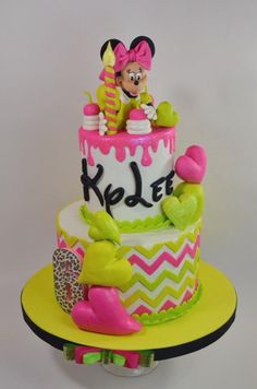 Minnie Mouse Cake for Icing Smiles - Cake by Jenniffer White