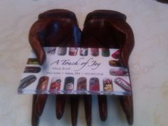 "this is my new nail business card holder ! a "" GIFT "" from a dear client !!"