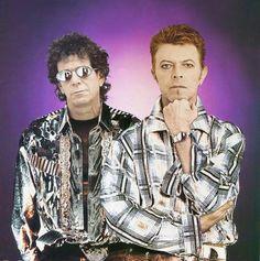 David bowie & Lou reed .                              …