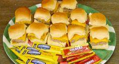 One-Pan Burger Sliders