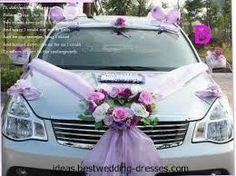 Image result for bridal car decor ideas