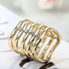 Shop for Scarf Slide Tubes ,OKAJewelry Rhinestone Gold Scarf Tube features a wavy pattern scarf slide tube design with sparkling rhinestones. Gold Scarf, Cuff Bracelets, Bangles, Scarf Rings, Silk, Pattern, Jewelry, Fashion, Self