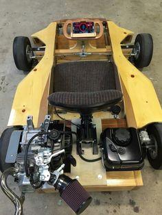 Wooden Go Kart, Wooden Cart, Go Karts, E Quad, Homemade Go Kart, Electric Go Kart, Raleigh Bikes, Go Kart Plans, Leather Cell Phone Cases