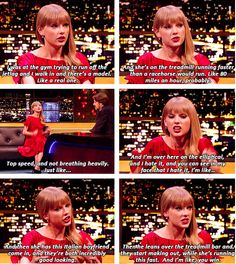 I love Taylor. I love when stars a are as real as regular people :)