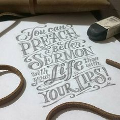 #typography #lettering