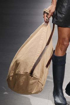 "Rucksack by TCN ""WINTER SEA"" FW Collection at 080 Barcelona Fashion Week"