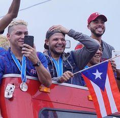 3/23/2017 celebrando la llegada del Equipo Nacional de Puerto Rico