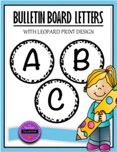 These letters are a great addition to your classroom bulletin board (especially…