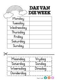Image result for afrikaans worksheets grade 2 | Afrikaans | 1st ...