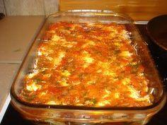 Breakfast Recipes, Snack Recipes, Snacks, Greek Cooking, Greek Recipes, Casserole Recipes, Lasagna, Food To Make, Good Food