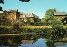 Le Château du Bosc. Εδώ, ο Henri de Toulouse-Lautrec πέρασε τα παιδικά του χρόνια. Καρτ-ποστάλ Delcampe.