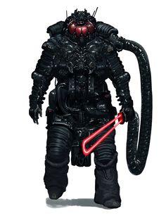 Star Wars - Darth Vader redesign by Chentooran Nambiarooran *