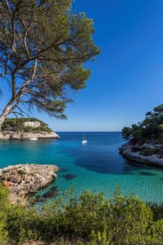 Spain, Balearic Islands, Menorca, Cala Mitjana