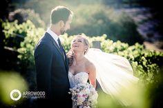 Elizabeth & Michael: Gorgeous and Flirty Wine Country Wedding © 2015 Arrowood Photography. http://www.arrowoodphotography.com