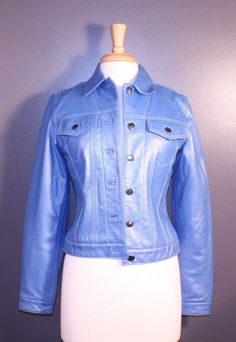 Saks Fifth Avenue leather jacket, ladies' size S, available at our eBay store! $40