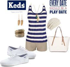 Ready. Set. Summer! with Keds, created by hotlikefiyah on Polyvore