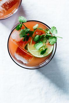 Watermelon Cilantro Limeade | TENDING the TABLE