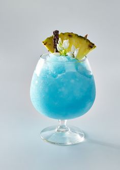 Blended Blue Hawaiian | Learn how to make Blended Blue Hawaiian . MyRecipes has 70,000+ tested recipes and videos to help you be a better cook