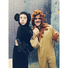 trevor moran connor franta who knows why they are dressed as animals lol :)