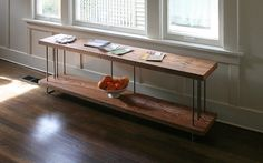 book shelf etagere modern industrial from reclaimed by birdloft
