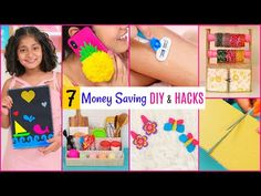 7 Money & Time Saving DIY & Hacks | DIYQueen - YouTube Get Thicker Hair, Gillette Venus, Wall Hanging Crafts, How To Get Thick, Pocket Money, Foam Sheets, Carton Box, Rubber Bands, Diy Hacks