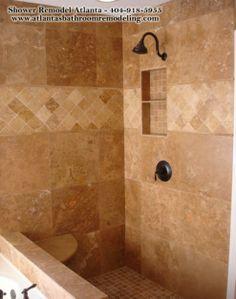 Travertine Tile Shower Ideas classic travertine tile shower design ideas, pictures, remodel