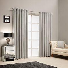 Thermo Schal Vorhnge Grau Samt Wohnzimmer Elegant Modern