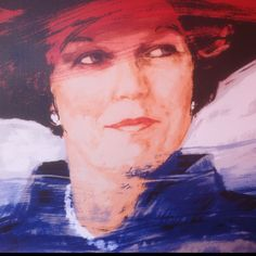 Koningin Beatrix, the Netherlands - mijn favoriete schilderij!  Like it in Dutch!  It has long been my favorite, too!