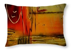 Vibrant Expressions Throw Pillow for Sale by Faye Anastasopoulou - x