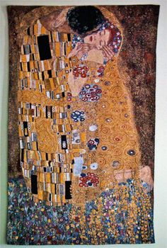 The Kiss by Klimt... Tapestry Wall Art