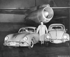 porsche 356 and vw beetle