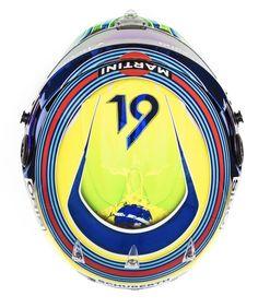 Felipe Massa - Williams - 2017 F1 2017, Juventus Logo, Helmets, Team Logo, Logos, Hard Hats, Pasta, Logo, Helmet