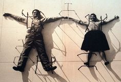 Photo mural of Charles and Ray Eames on exhibit at LACMA (Photo by Ken Lubas/Los Angeles Times via Getty Images) Gilbert Garcin, Tate Gallery, Photo Mural, Alfred Stieglitz, Charles & Ray Eames, Face Photo, Famous Art, Art Icon, Couple Art