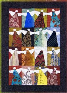 "Peace Angels Quilt Pattern, 42 x 58"", by Kimberly Rado   Sleepy Night Hollow"