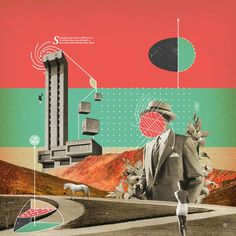 Andrew McGranahan's surreal & psychedelic collage art crafted from vintage magazines | Creative Boom