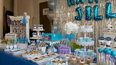 Foto 5/7 Frozen Party (Sweet Corner Themed) #sweetcorner #sweettable #frozenparty #frozensweetcorner #birthdayparty